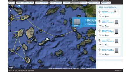 Liste des voyages Annabella en Grèce